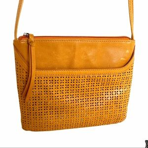 Hobo International Orange Crossbody Handbag